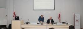პროფესორ რუდოლფ შტიხვეს საჯარო ლექცია