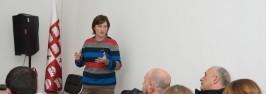 ილიაუნის სამეცნიერო კაფეში: პროფესორ მაია თოდუას საჯარო ლექცია