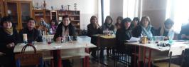 სამუშაო შეხვედრა თელავის მუნიციპალიტეტის საბუნებისმეტყველო საგნების მასწავლებლებთან