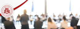 ACCA-ს ევროპის განვითარებადი ქვეყნების განათლების პროგრამის ხელმძღვანელისა და BDO აკადემიის მენეჯერის საინფორმაციო შეხვედრა სტუდენტებთან
