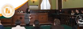 ილიაუნის  სამართლის  სკოლის კონკურსი  საერთაშორისო  იმიტირებულ  შეჯიბრებაში  მონაწილეობისათვის