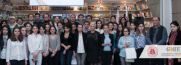 NUTSA MAKHVILADZE NATIONAL DEBATE TOURNAMENT WINNERS AWARDED