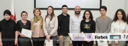 ILIAUNI BUSINESS SCHOOL AND FORBES SCHOLARSHIP COMPETITION WINNERS ANNOUNCED