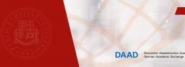 საინფორმაციო შეხვედრა DAAD-ს სასტიპენდიო პროგრამების შესახებ