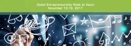 Global Entrepreneurship Week at Iliauni