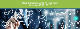 Global Entrepreneurship Week at Iliauni