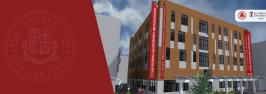 ილიაუნიმ და SDSU-საქართველომ ახალი აკადემიური შენობის კარკასის დასრულების საზეიმო ცერემონია გამართეს