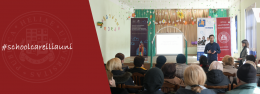 ტრენინგი ჭიათურელი  პედაგოგებისთვის  – ილიაუნის  სასკოლო განათლების მხარდაჭერის პროგრამა