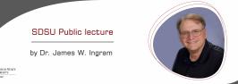 Public lecture by Dr. James W. Ingram
