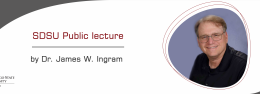 Public lecture by Dr. James W. Ingram