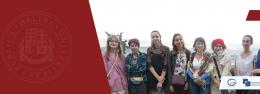 Aleksandra Bovt's Visit to Ilia State University