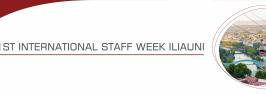 1st International Staff Week ILIAUNI