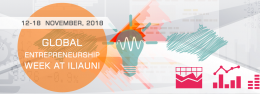 Global Entrepreneurship Week 2018