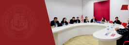 ჩინეთის მეცნიერებათა აკადემიის (CAS) დელეგაციის ვიზიტი ილიაუნიში
