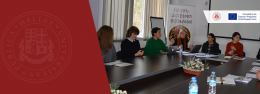 Iakob Gogebashvili Telavi State University hosted a training within the frames of Erasmus Plus CBHE project Academic Integrity for Quality Teaching and Learning in Higher Education Institutions in Georgia (INTEGRITY)