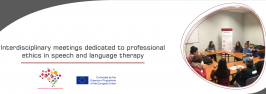 Interdisciplinary meetings dedicated to professional ethics in speech and language therapy