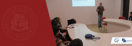 """Workshop """"Effective Academic Communications"""" held by Prof. Cort Anderson on March 25 + 26, 2019"""