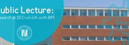 Public lecture: Research at DECivil-UA with BIM