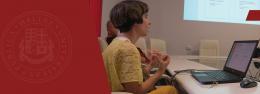 Svetlana Berikashvili's Presentation at the Doctoral Forum
