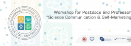 Workshop for Postdocs and Professors by Thomas Richter: Science Communication and Self-marketing