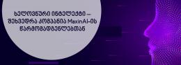 ხელოვნური ინტელექტი – შეხვედრა კომპანია MaxinAI-ის წარმომადგენლებთან