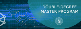 DOUBLE-DEGREE MASTER PROGRAM