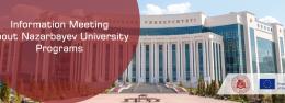 Information Meeting about Nazarbayev University Programs