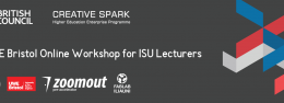 UWE Bristol Online Workshop for ISU Lecturers