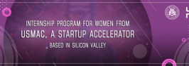Internship Program for Women from USMAC, a startup accelerator based in Silicon Valley