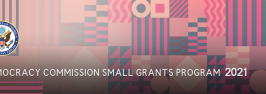 Democracy Commission Small Grants Program 2021