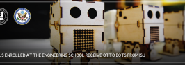 Girls Enrolled at the Engineering School Receive OTTO Bots from ISU