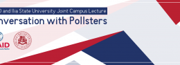 "USAID and Ilia State University Joint Campus Lecture: ""Conversation with Pollsters"""
