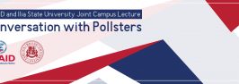 """USAID and Ilia State University Joint Campus Lecture: """"Conversation with Pollsters"""""""