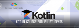 KOTLIN course for ISU students