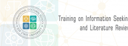 Training on Information Seeking and Literature Review