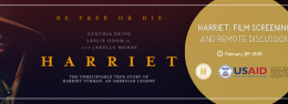 Harriet: Film Screening and Remote Discussion