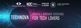 Technova - talks about Cyber Security and Data Science