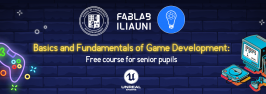 Basics and Fundamentals of Game Development: Free course for senior pupils