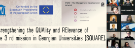 Strengthening the QUAlity and RElevance of the 3 rd mission in Georgian Universities (SQUARE)