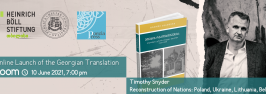 Online Launch of the Georgian Translation