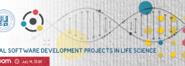 Real Software Development Projects in Life Science