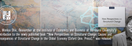 """Dr. Wonkyu Shin, Researcher at the Institute of Economics and Business at Ilia State University's contribution to the book """"New Perspectives on Structural Change: Causes and Consequences of Structural Change in the Global Economy"""" was released"""
