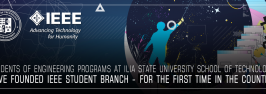 Students of engineering programs at Ilia State University School of Technology have founded IEEE student branch - for the first time in the country