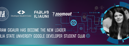 MARIAM GIGAURI HAS BECOME THE NEW LEADER OF ILIA STATE UNIVERSITY GOOGLE DEVELOPER STUDENT CLUB