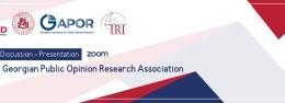 Public Discussion - Presentation of the Georgian Public Opinion Research Association